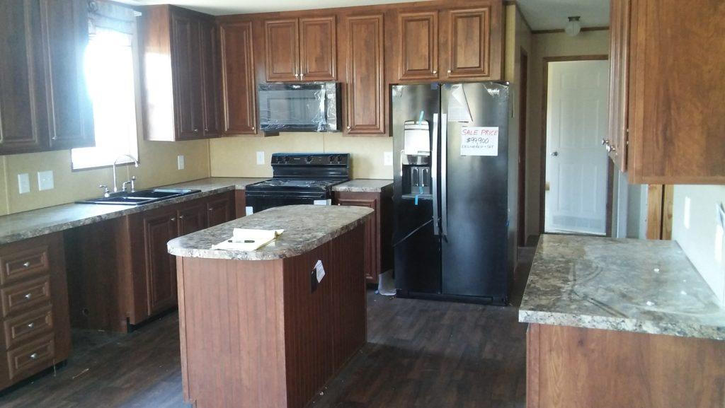Southern Porch House Kitchen