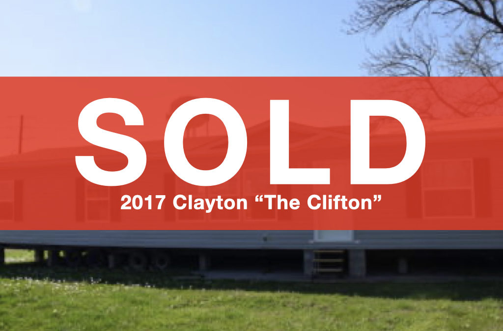 "2017 Clayton ""The Clifton"" — 28'x64′ — 3 bed, 2 bath"