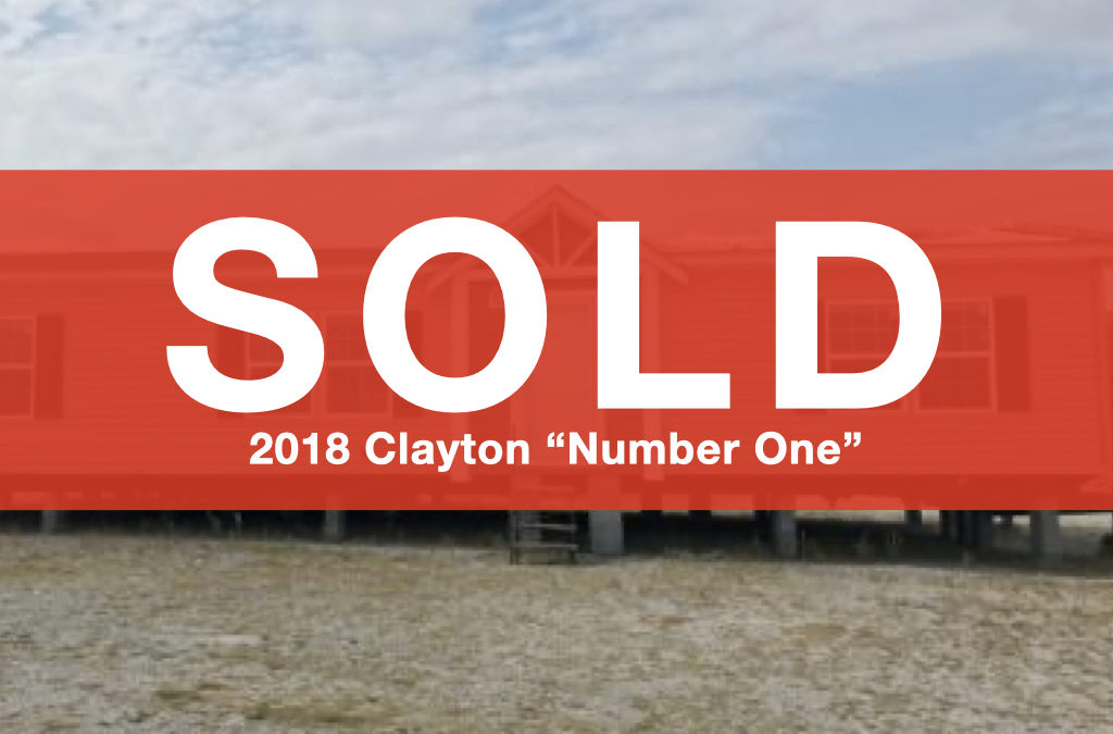 """2018 Clayton """"The Number One"""" — 28'x60′ — 3 bed, 2 bath"""