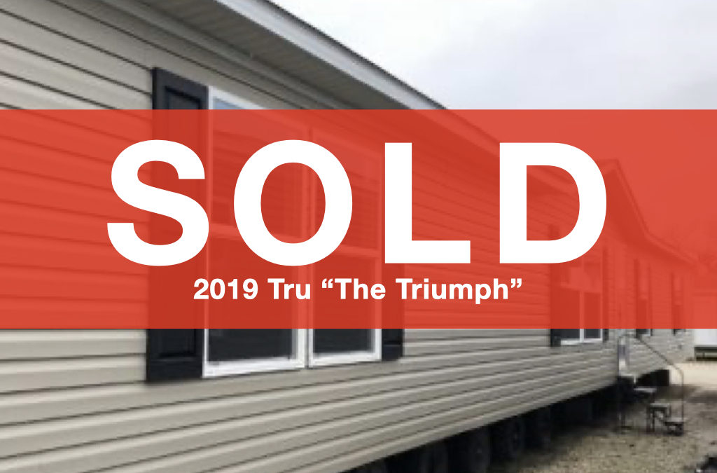 "2019 Tru ""The Triumph"" — 28×80 — 5 bedroom, 2 bath"