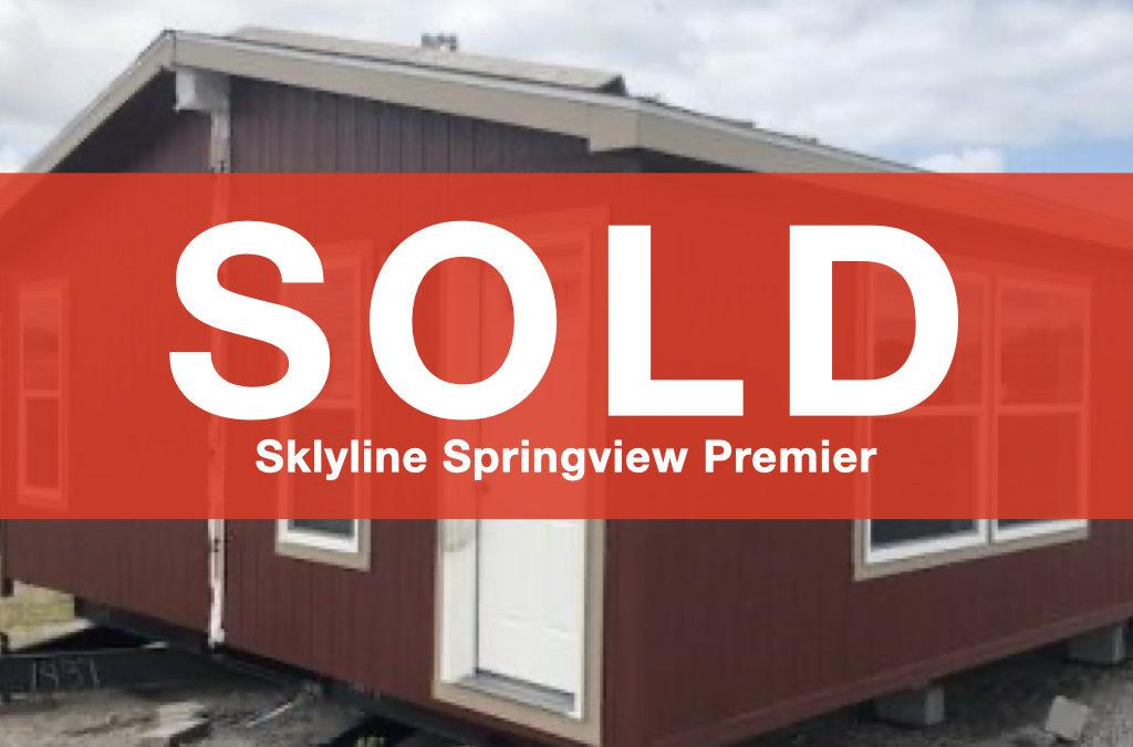 Skyline-Springview Premier — 24×48 — 3 bedroom, 2 bath