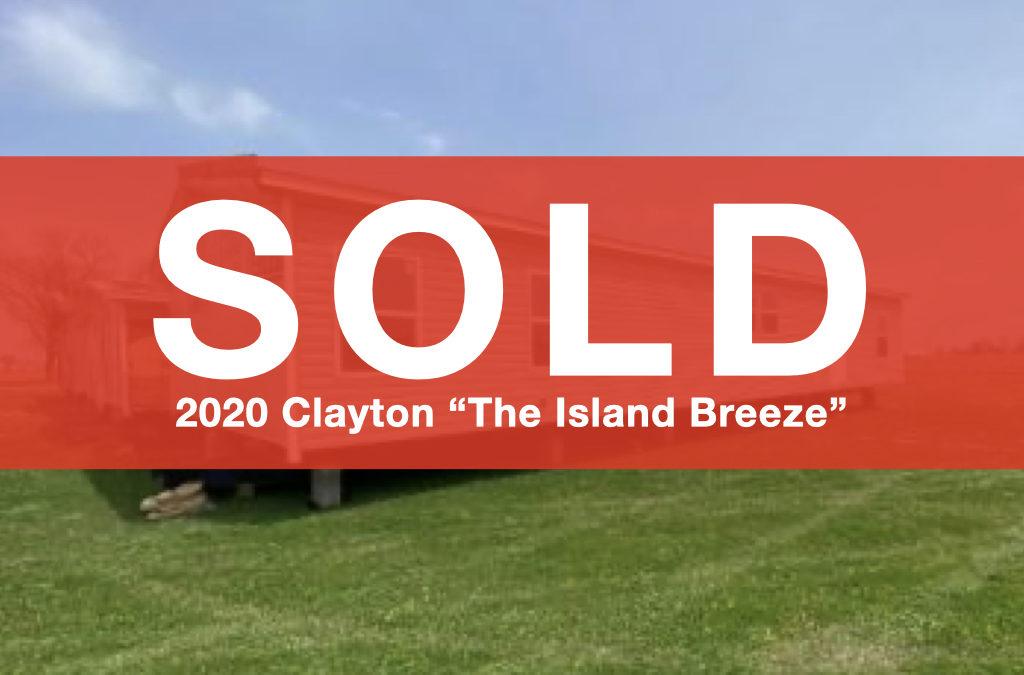 2020 Clayton Island Breeze – 28′ x 60′ – 3 bedroom 2 bath