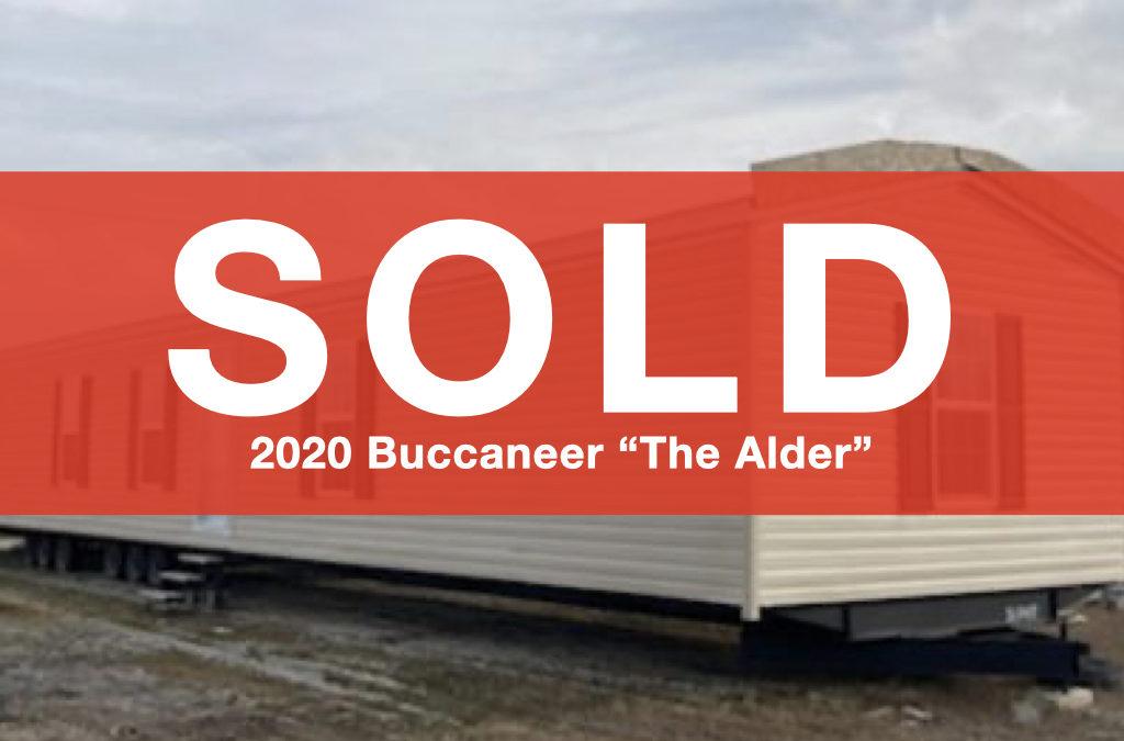 """2020 Buccaneer """"The Alder"""" — 16×80 — 3 bedroom, 2 bath"""